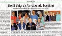 """Artikel """"Die Harke"""" vom 23.03.2017©Rehabilitation und Behinderten Sport e.V. Nienburg"""
