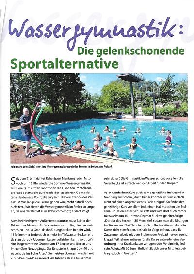 Wassergymnastik: Die gelenkschonende Sportalternative