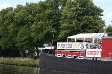 umgebautes Hausboot©Rehabilitation und Behinderten Sport e.V. Nienburg